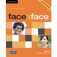 face2face Starter Workbook with Key by Chris Redston (Paperback, 2013)