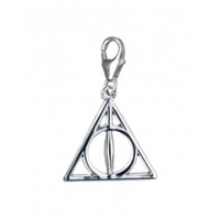 Sterling Silver Deathly Hallows Clip on Charm