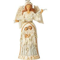 Breath of Heaven White Woodland Nativity Angel Figurine