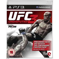 UFC Undisputed 3 With Pre-Order Bonus Contenders Fighter Pack Game