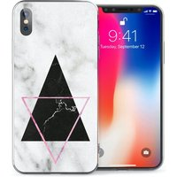 CASEFLEX APPLE IPHONE X MARBLE STAR CASE / COVER (3D)