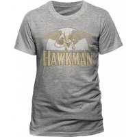 Hawkman - Flying Men's Small T-Shirt - Grey