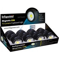 Infapower Magnetic COB Cupboard Light (Pack of 12)