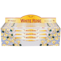 Pack of 25 Tulasi White Rose Incense