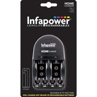 Infapower Plug-in Battery Charger UK Plug
