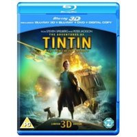The Adventures of Tintin The Secret of the Unicorn 3D 3D Blu-ray 2D Blu-ray DVD and Digital Copy