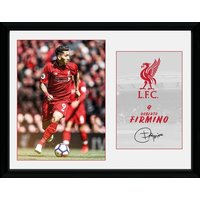 Liverpool Firmino 18/19 Framed Collector Print