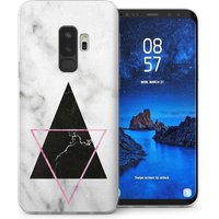 CASEFLEX SAMSUNG GALAXY S9 PLUS MARBLE STAR CASE / COVER (3D)