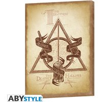 Harry Potter - Deathly Hallows Canvas