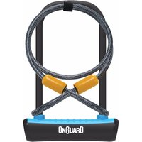OnGuard Neon U-Lock   Extender Cable Blue 115 x 230 x 11mm
