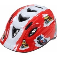 Apex C250 Transport Childrens Helmet Red/white 46-52cm