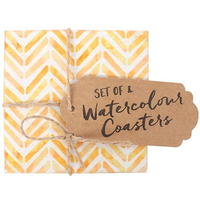 Set of 4 Watercolour coasters