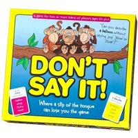 Dont Say It Board Game