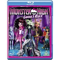 Monster High Ghouls Rule Blu-ray