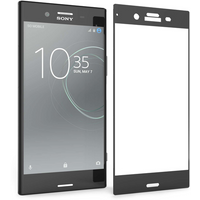 Sony Xperia XZ1 Tempered Glass Screen Protector -Single Pack - Black