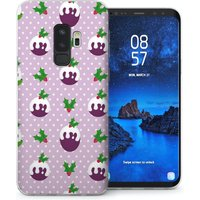 CASEFLEX SAMSUNG GALAXY S9 PLUS CHRISTMAS PUDDING (PURPLE) CASE / COVER (3D)