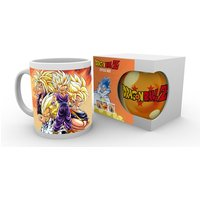 Dragon Ball Z Super Saiyans Mug