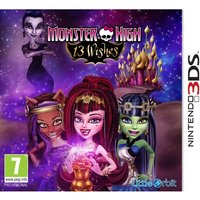 Monster High 13 Wishes Game 3DS