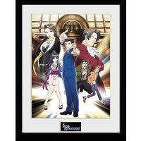 Ace Attorney Collector Print