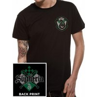 Harry Potter - House Slytherin Men's Small T-Shirt - Black