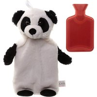 Plush Pandarama Design 1 Litre Hot Water Bottle and Cover