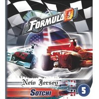 Formula D Circuits 5 New Jersey & Sotchi Expansion Board Game