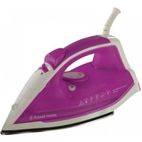 Russell Hobbs 22491 Supreme Steam Traditional Iron 2400W White/Pink UK Plug