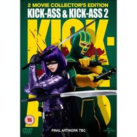 Kick-Ass & Kick-Ass 2 DVD