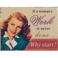 Box of 12 If A Womans Magnets