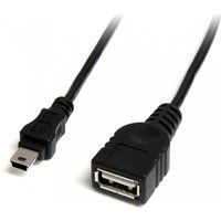 StarTech 1ft 2.0 USB A To Mini B Female to Male Cable