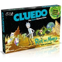 Rick & Morty Cluedo