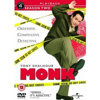 Monk - Season 2 - Complete DVD