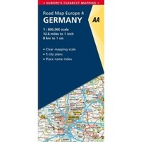 4. Germany : AA Road Map Europe