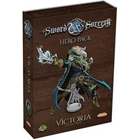Sword & Sorcery: Hero Pack - Victoria the Captain/Pirate Board Game