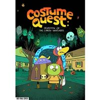 Costume Quest Invasion of the Candy Snatchers Hardcover