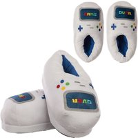 Game Controller Unisex One Size Pair of Plush Slippers