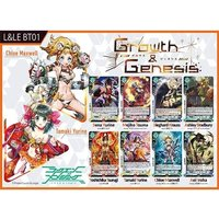 Luck & Logic Growth And Genesis Trading Card Boosters - 20 Packs