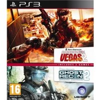 Ubisoft Double Pack Ghost Recon Advanced Warfighter 2 & Tom Clancys Rainbow Six Vegas 2 Game