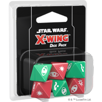 Star Wars X-Wing Dice Pack Second Edition Board Game