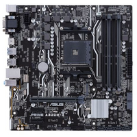Asus PRIME A320M-A, AMD A320, AM4, Micro ATX, 4 DDR4, VGA, DVI, HDMI, M.2, RAID, LED Lighting