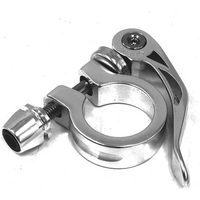 ETC Quick Release Seat Clamp Silver 28.6mm