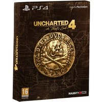 Ex-Display Uncharted 4 A Thief's End Special Edition PS4 Game Used - Like New