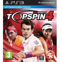 Top Spin 4 Game (Move Compatible)