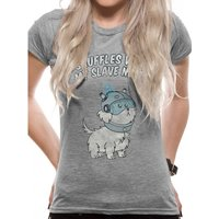 Rick And Morty - Snuffles Women's X-Large T-Shirt - Grey