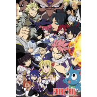 Fairy Tail Season 6 Key Art Maxi Poster