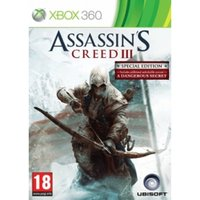 Assassin's Creed III 3 Special Edition Xbox 360 Game