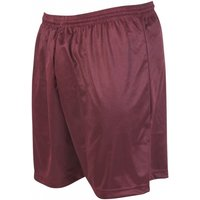 Precision Micro-stripe Football Shorts 30-32 inch Maroon