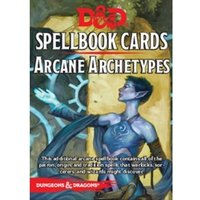 Dungeons and Dragons Arcane Archetypes Spell Deck