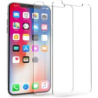 Apple iPhone X Glass Screen Protectors - Twin Pack