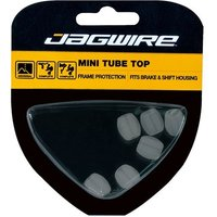 Jagwire Brake/Gear Mini Tube Tops Clear (x50)
